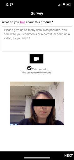 questionnaire vidéo étude qualitative