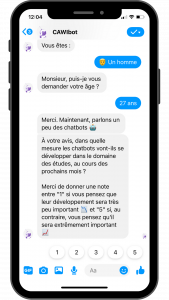 chatbot survey messenger