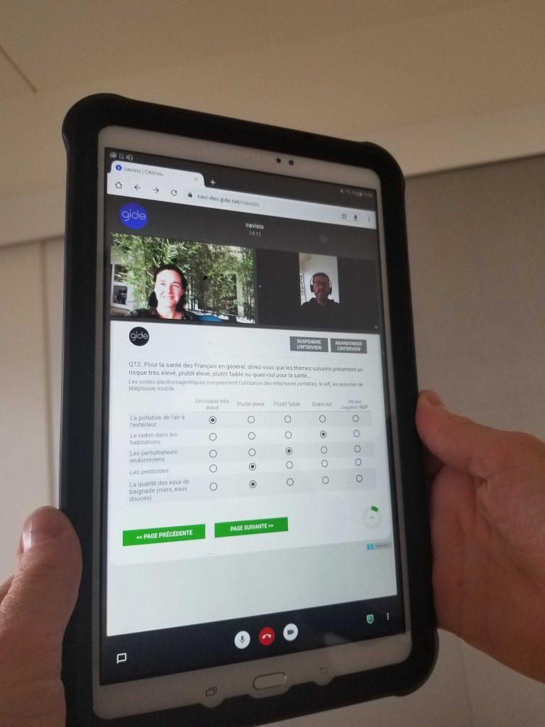 cavisio survey interview videoconference